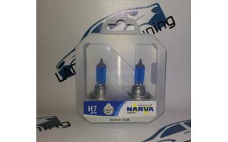 Лампы с ксеноновым эффектом Xenon Look H7+W5W