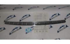 Накладка на задний бампер Хром для Лада Веста седан и универсал