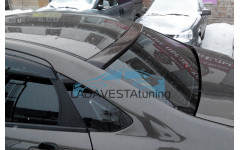Козырек окрашенный на заднее стекло Лада Веста седан