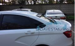 Козырек на заднее стекло Лада Веста седан