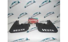 Брызговики задние Лада Веста белые буквы Vesta